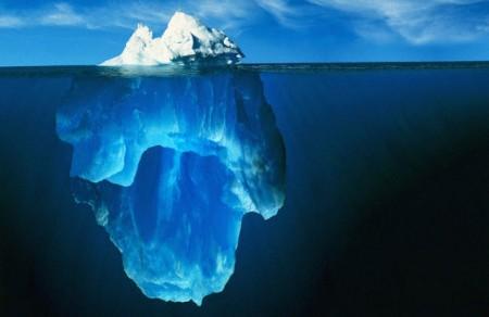 Un iceberg au complet