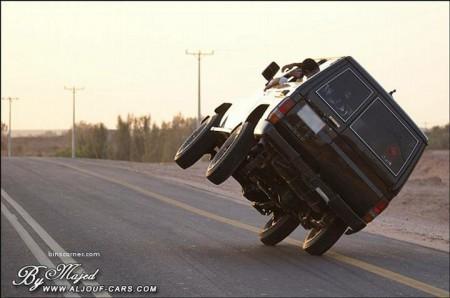 08 - Ca n'arrive que sur les routes d'Arabie Saoudite