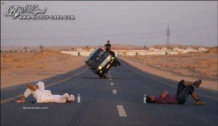 10 - Ca n'arrive que sur les routes d'Arabie Saoudite
