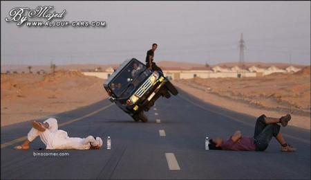11 - Ca n'arrive que sur les routes d'Arabie Saoudite