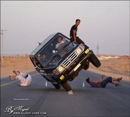 14 - Ca n'arrive que sur les routes d'Arabie Saoudite