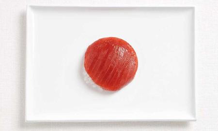 Japon - Des drapeaux nationaux fait de nourriture