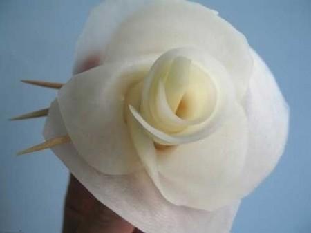 07 - Des frites en forme de rose