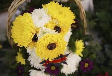 03 - Des chiens faits de fleur - Flower dogs