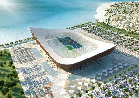 Qatar d voile 5 stades solaires pour 2022 - Stade coupe du monde 2022 ...