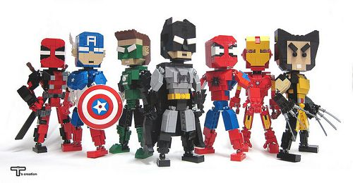 Les Super Héros Marvel En Lego Boobaan Fr